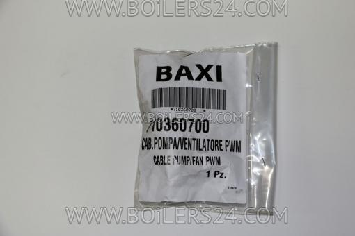 Baxi Cable to pump and fan, 710360700