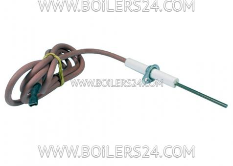 Baxi Flame control electrode with cable, JJJ008620290