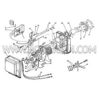 Riello Thermostat assembly, 3008812