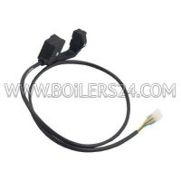 Wolf Gas valve cable with plug NG-31E-90/20110, 2794122