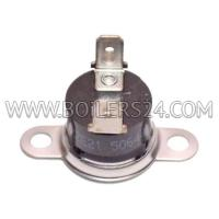 Wolf Temperature sensor with mounting plate, 8602154