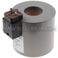 Weishaupt Solenoid coil MDK70 with plug connection, 605930